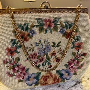 Vintage Embroidery purse